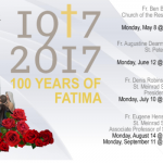 Nativity Hosts Fatima Conferences to celebrate the 100th Anniversary of Fatima